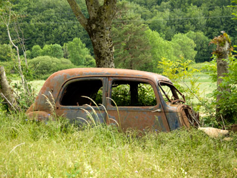 Rust in peace, France